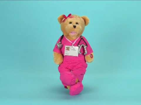 Singing Bear. Nurse Bears. Scrubs Bear. Musical Bear - YouTube