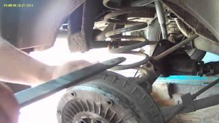 Как заменить задние пружины Ваз-2101-07, советы в процессе.