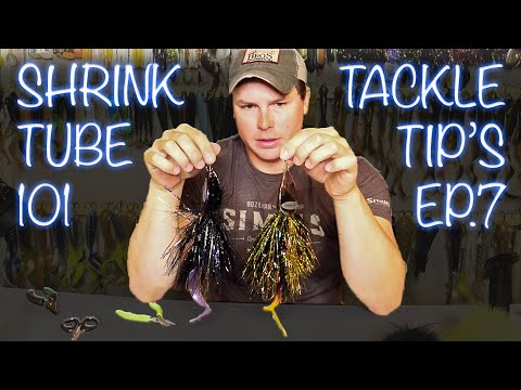 Catch More Muskies! (How To Shrink Tube Bucktails) Tackle Tips Ep.10
