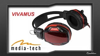 Media-Tech Vivamus - Słuchawki z mikrofonem za mniej niż 40 złotych