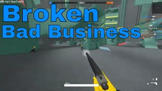 Roblox Bad business 🔴Silenced PPK IS BROKEN!!! 🔴