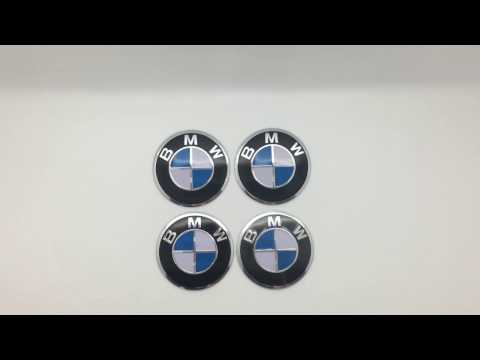 Наклейки на диски BMW 57 мм