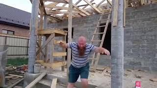 Строительство домов из Арболитовых блоков в Крыму / Строим Дом из Арболит Блока / Арболит Юг