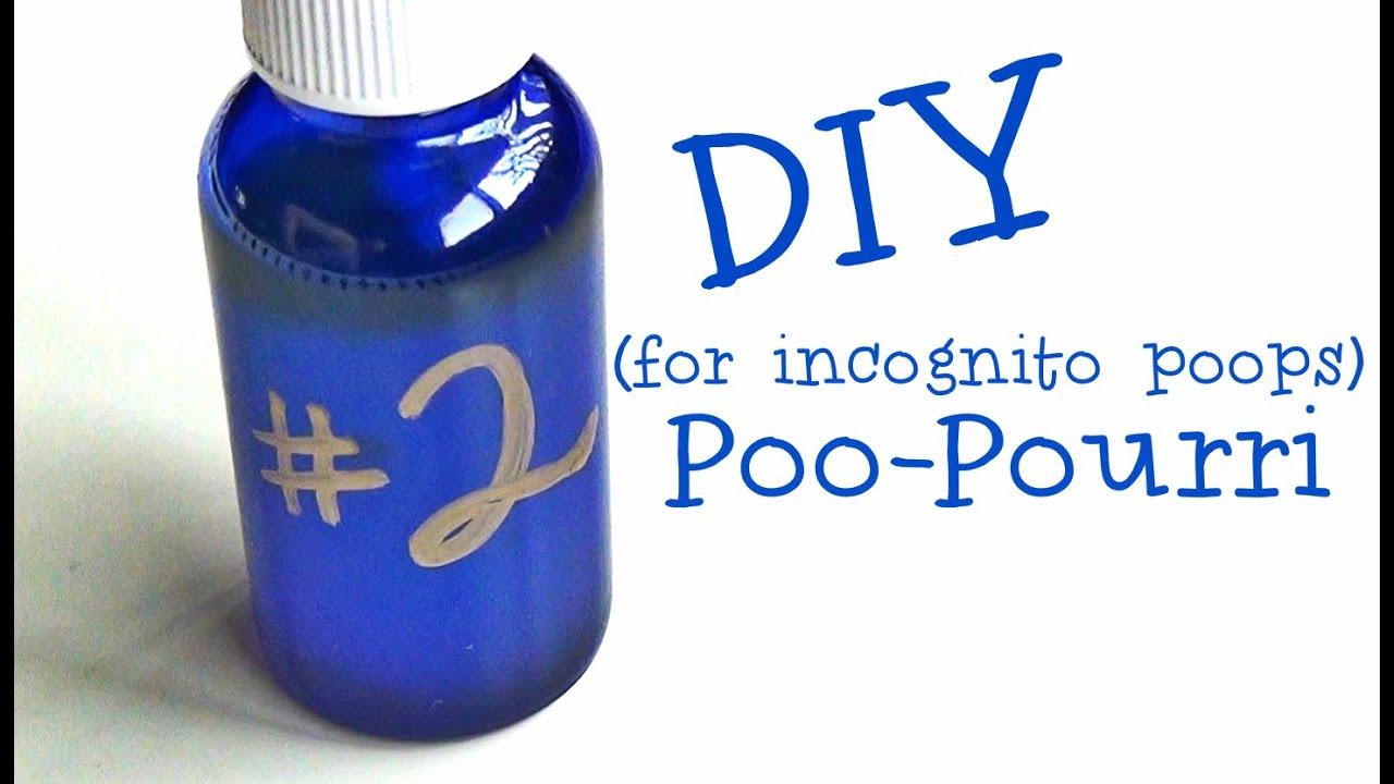 DIY ♥ Poo-Pourri - YouTube