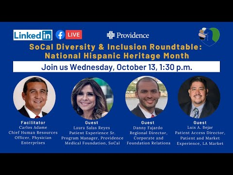 SoCal Diversity & Inclusion Round Table: National Hispanic Heritage Month