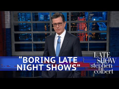 trump denounces amp 39 very boring late night shows amp 39