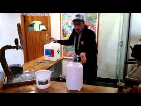Josh's How To:  Cleaning Key Keg Wine Lines