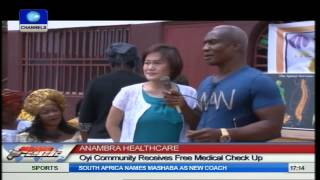 Oyi Community Receives Free Medical Check-up