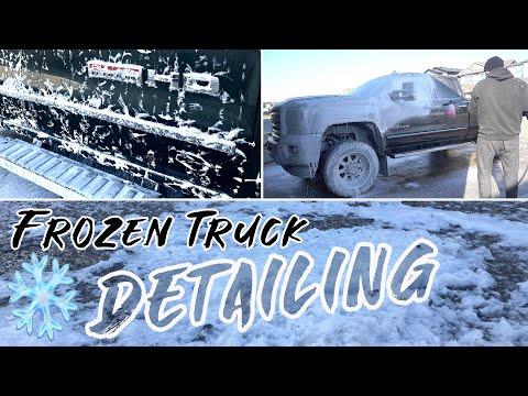 FROZEN Truck Detail | Complete Interior Exterior Car Detailing Below Zero!
