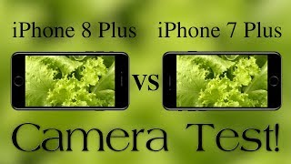 iPhone 8 Plus Vs iPhone 7 Plus Video & Still Image Quality Comparison! Camera Test