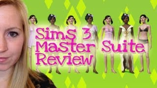 SIMS 3 MASTER SUITE STUFF PACK REVIEW!!!