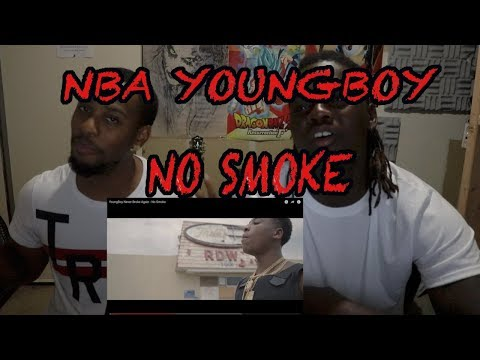 YoungBoy Never Broke Again - No Smoke - REACTION