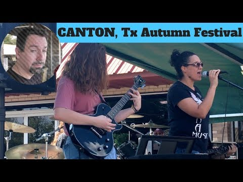 Fall Festivals, RocknRoll, and Bitter Bass Players in Canton Tx!