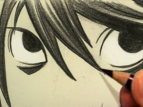 100 Ways to Draw Manga Eyes [RE-UPLOAD WITH AUDIO]