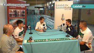 Calafell Esportiu 27/10/20. Tertúlia CP Calafell #7: J.Escobar, J.Graell, D.B.Puertos i M.Restoy