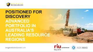 MAG presentation RIU Sydney Resources Round-up 2018