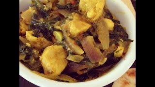 How To Prepare Saag Chicken (healthy Indian Recipes)