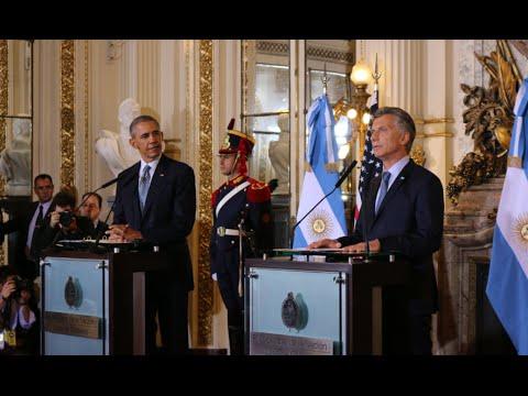 """Obama: """"Macri me ha impresionado, estamos listos para trabajar con Argentina"""""""