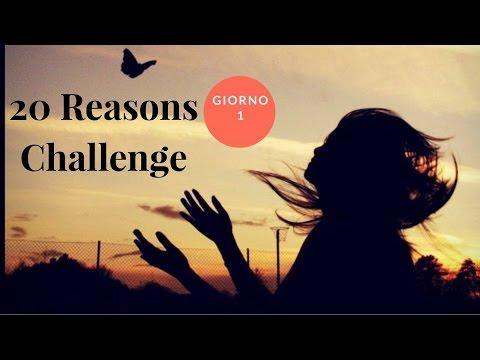 Risultati immagini per 20 reasons challenge