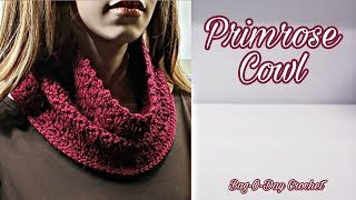 How To Crochet A Cowl  | The Primrose Cowl | Bag O Day Crochet Tutorial #548