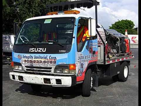 Trash Trucks For Sale >> Pressure washer truck and trailer mounted units, trash ...