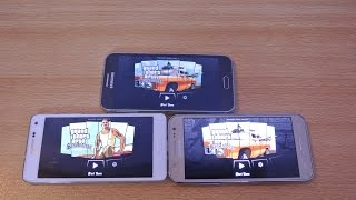Samsung Galaxy J5 vs A5 vs E5 - GTA San Andreas Gaming Comparison HD
