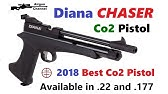 Diana chaser Cp2 rifle mode chronograph test!!! - YouTube