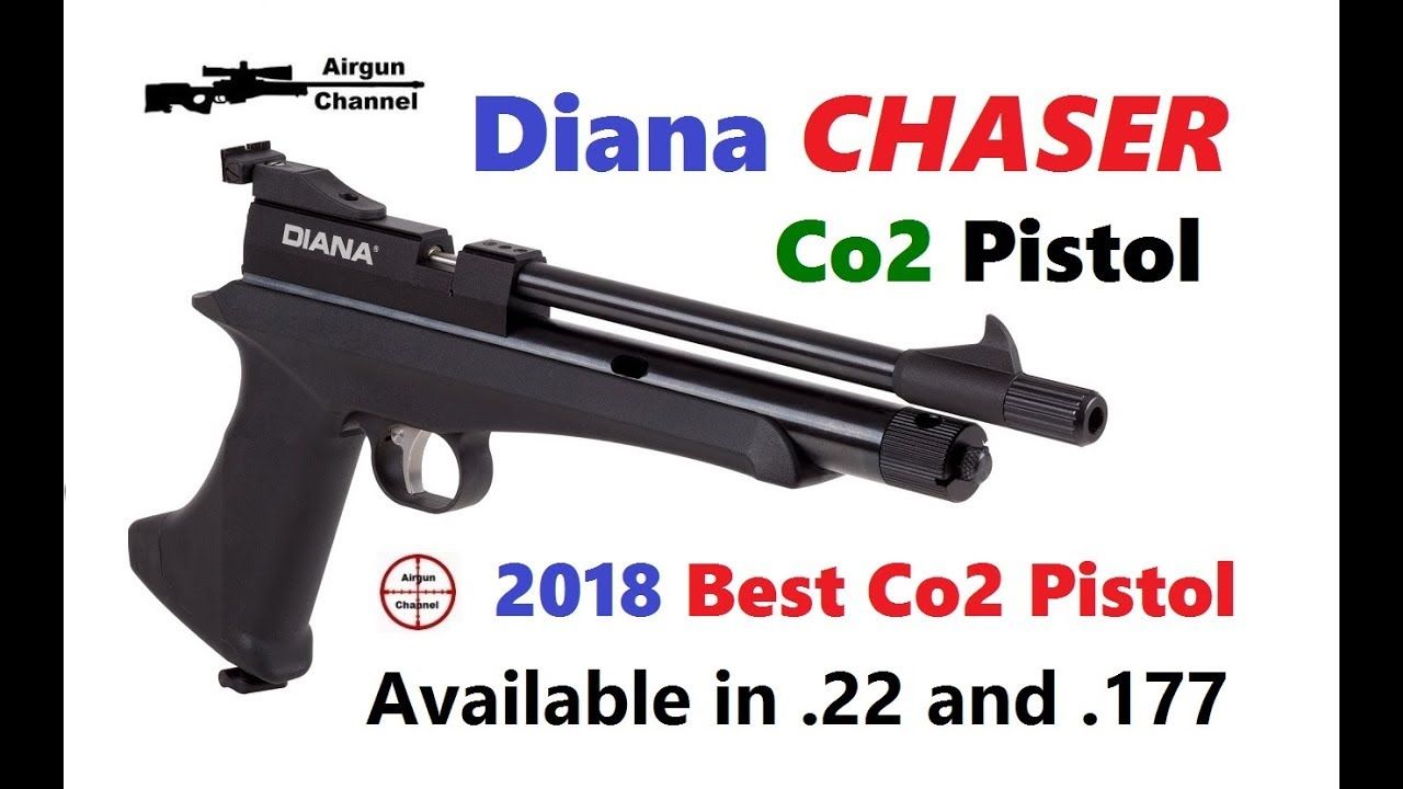 Diana CHASER Pistol Review (The Best Co2 Air Pistol of 2018)