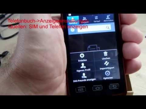 kontakte android löschen