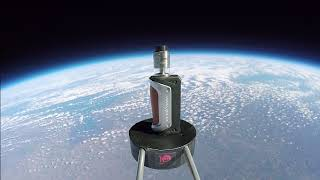 Sent Into Space - E Cig in Space