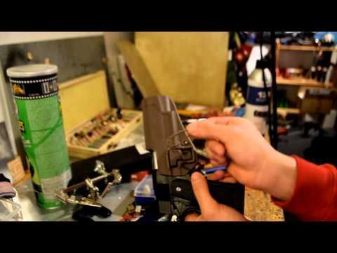 Airsoft: TM Hi Capa 5.1 Blackhawk Holster!