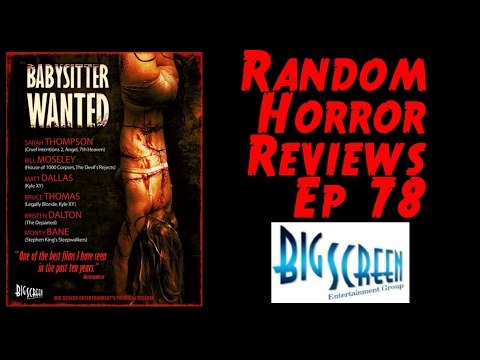 Random Horror s: Ep.78 Babysitter Wanted 2008  Big Screen Entertainment