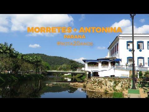 Morretes e Antonina, as cidades históricas mais queridas do Paraná