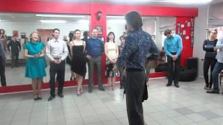 Открытый урок по Аргентинскому танго, школа STproject (Екатеринбург) (25/05/15)