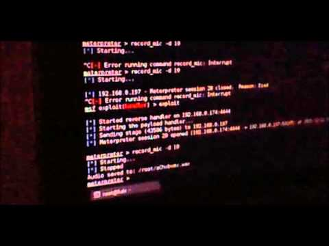 hacking android | record mic | Kali Linux