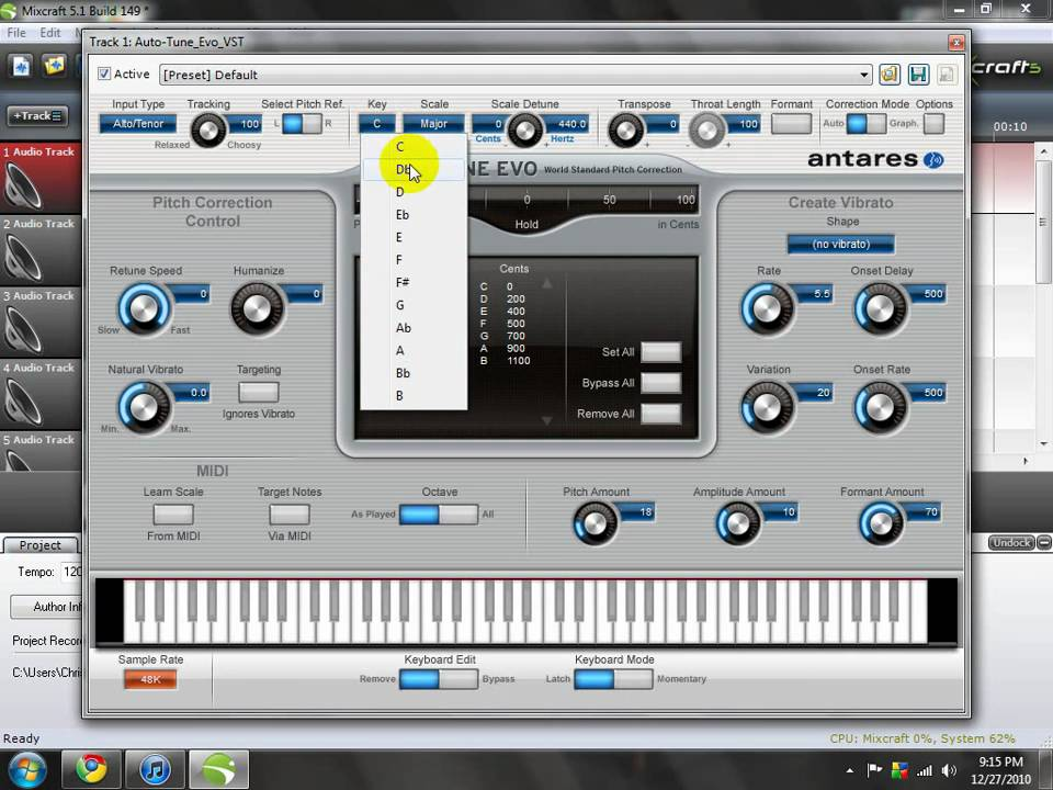 auto tune evo tutorial -