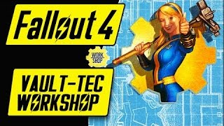 Строим убежище с DLC Fallout 4 Vault-Tec Workshop