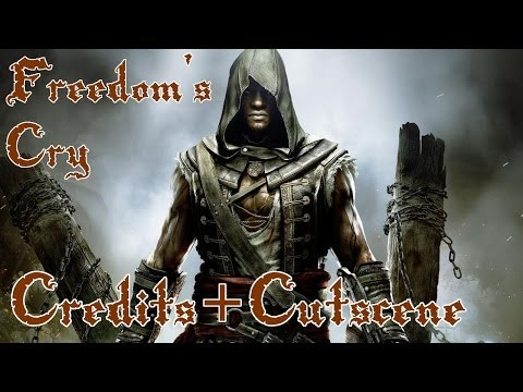 Assassins Creed IV: Black Flag DLC - Freedom Cry - Final Scene and Credits