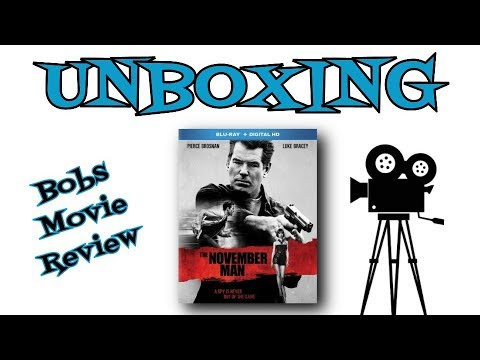 The November Man Blu Ray Unboxing Digital HD Giveaway