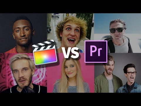 Premiere vs Final Cut: What Do Youtubers Use?