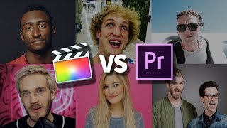 Premiere vs Final Cut What Do Youtubers Use