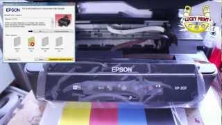 видео Обзор Epson Expression Home XP-207 от компании «Все для принтера»