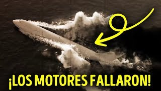 Un avión pudo haber destruido el centro de la ciudad pero aterrizó en un río