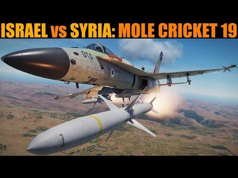 1982 Operation Mole Cricket 19: Israel Attacks Syrian Air Defence | DCS WORLD Reenactment