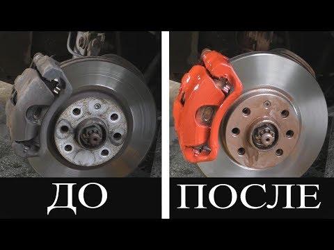 Замена передних тормозных дисков и колодок Opel COMBO MARIVA CORSA