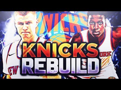 CARMELO ANTHONY TRADED!! NY KNICKS REBUILD!! NBA 2K18