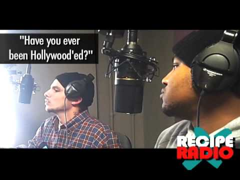 Recipe Radio on Being Hollywood'ed