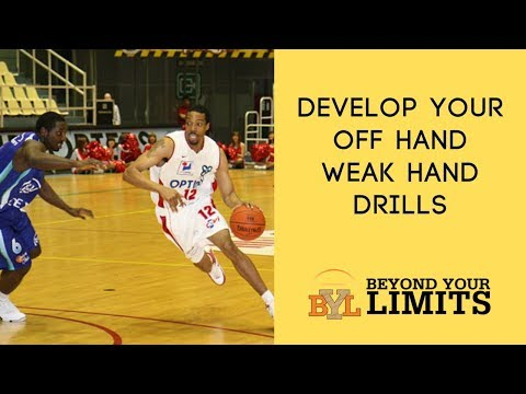 Develop Your Off Hand   Basketball Weak Hand Drills