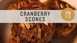 Superfoods - Fresh Cranberry Almond Scones