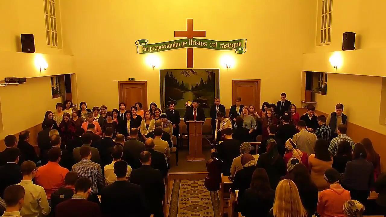 Pastor Adrian Condrea si orchestra Bisericii Crestine